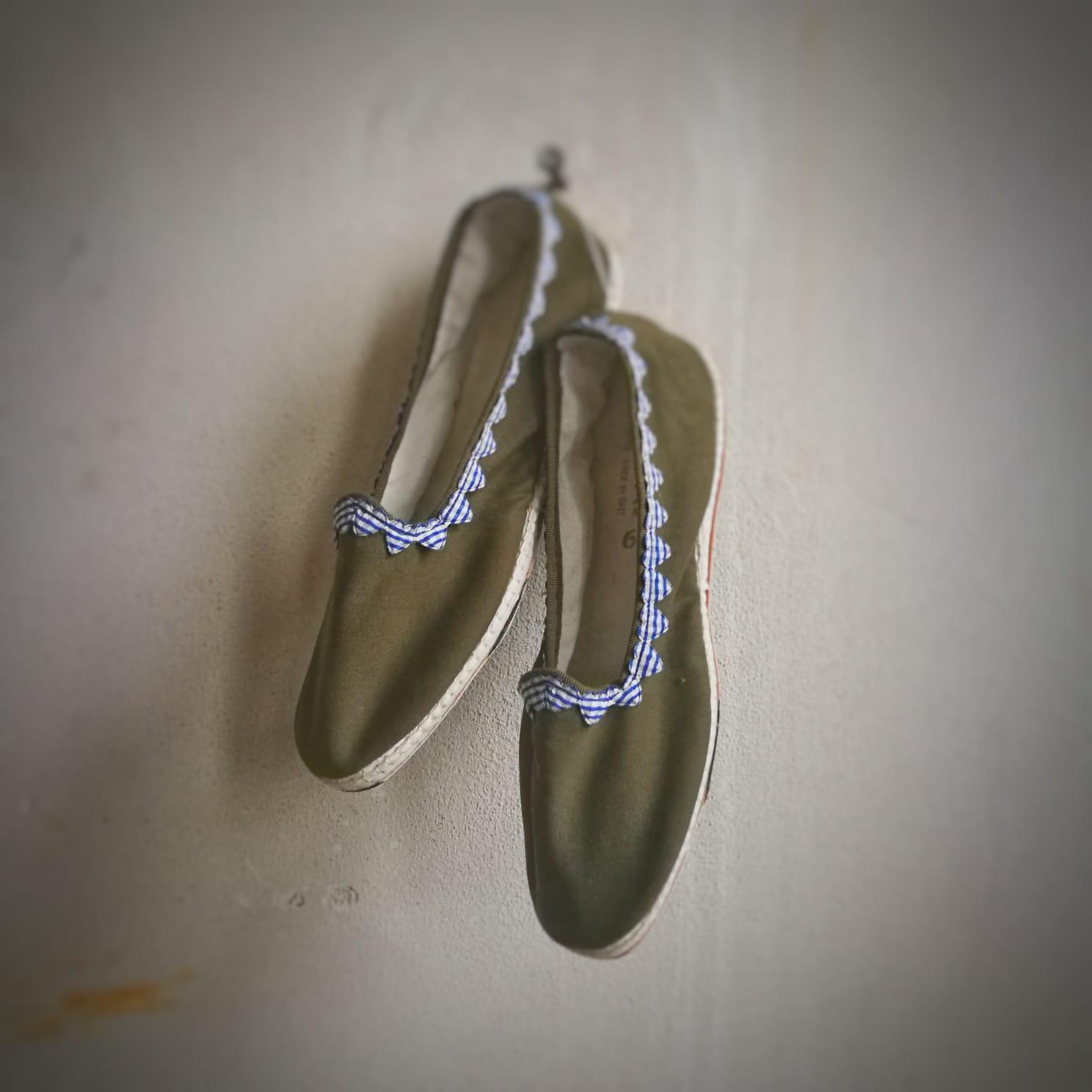 scarpes friulane con cuori artigianato lis furlanis